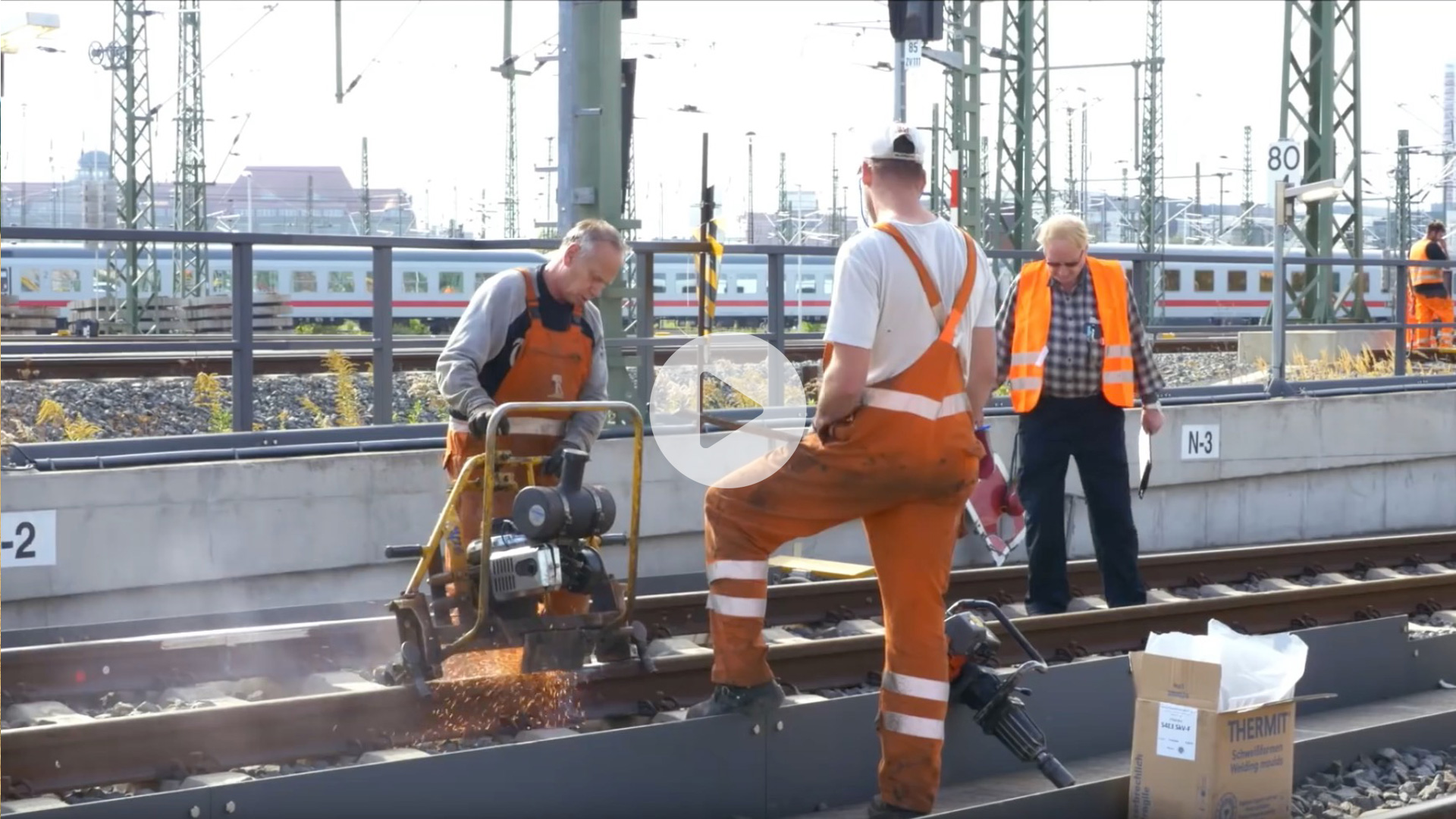 Link zur Baudokumentation Baufeld Leipzig Hauptbahnhof – Impressionen Vollsperrung 2016